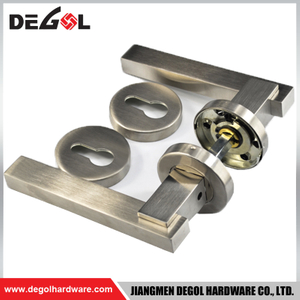 LH1062 Square Shape Lever Handle Door Lock Type Stainless Steel 304 Door Handles