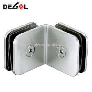 GC1011 Popular best price stainless steel glass panel clamp