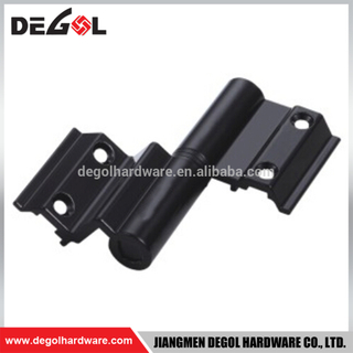 Aluminum outward opening aluminum casement window hinge