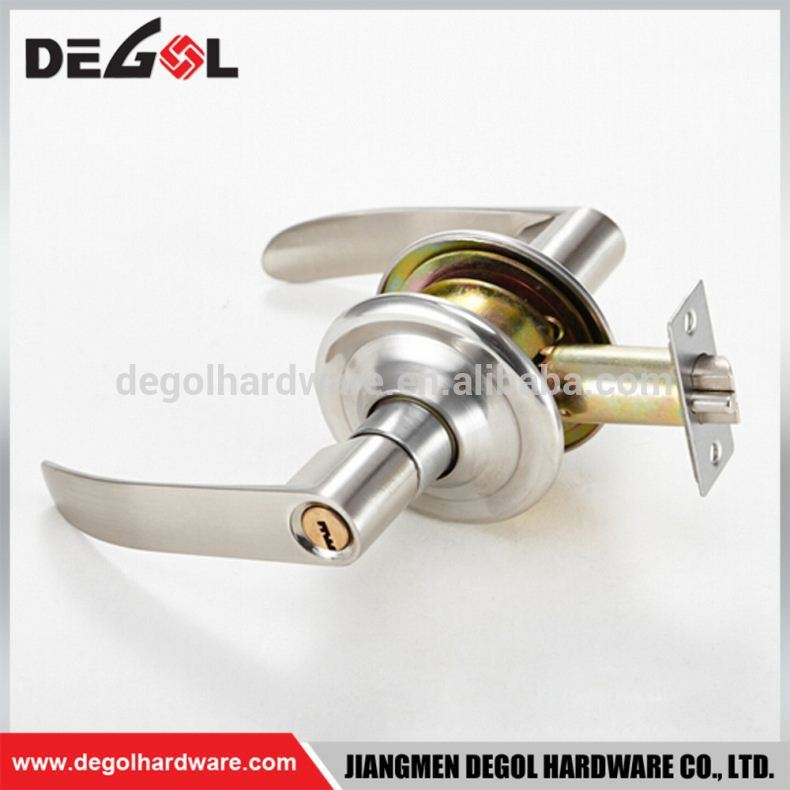 Hotel Room Passage Double Sided Pull Handle Door Lock Set