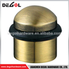 Top quality stainless steel sliding cylinder original door stopper with rubber
