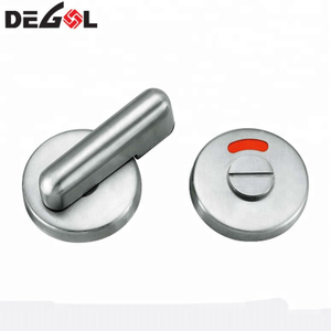 Top quality stainless steel toilet partition door lock