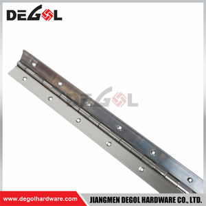 DH1025 Top quality furniture hardware continuous stainless steel piano hinge