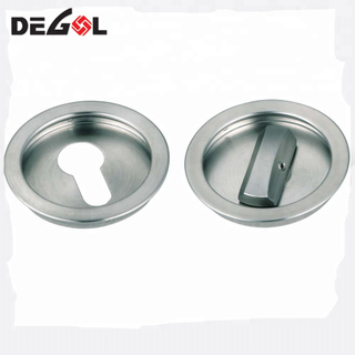 Wholesale European style simple high quality stainless steel door locks thumb turn