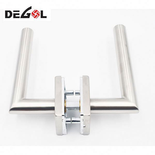 Door Handle With Pin Zinc Sliding Door Handle Lock
