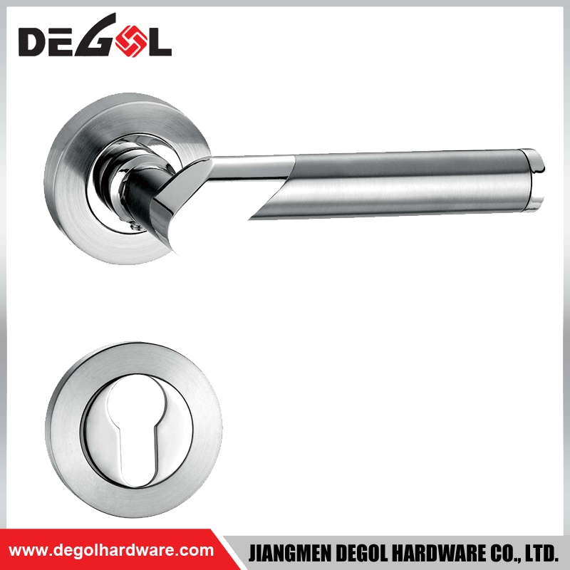 LH1036 Manufacturer apartment china tubular lever door handle