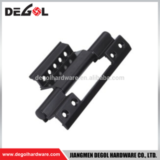 China supplier aluminum alloy black types of casement window hinges
