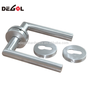 Popular tube 201 internal doors modern lever door handles