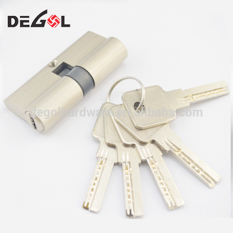 Good Quality Safe Locks Double Key Brass Or 304 Material Cylinder