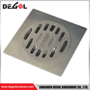 Door Handle With Foot Stainless Steel Garage Floor Drain Cover Plate