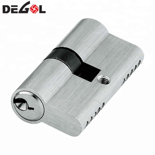 Euro Profile Brass Cylinder Lock with Master Key Pin Cylinder Lock