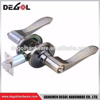 stainless steel 304 and 201 door handle lock Modern door lever handle,european door handle lock
