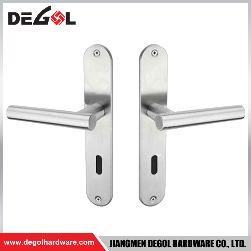 BP1014 Professional Hot Sale Door Lever Handle Wall On Plate
