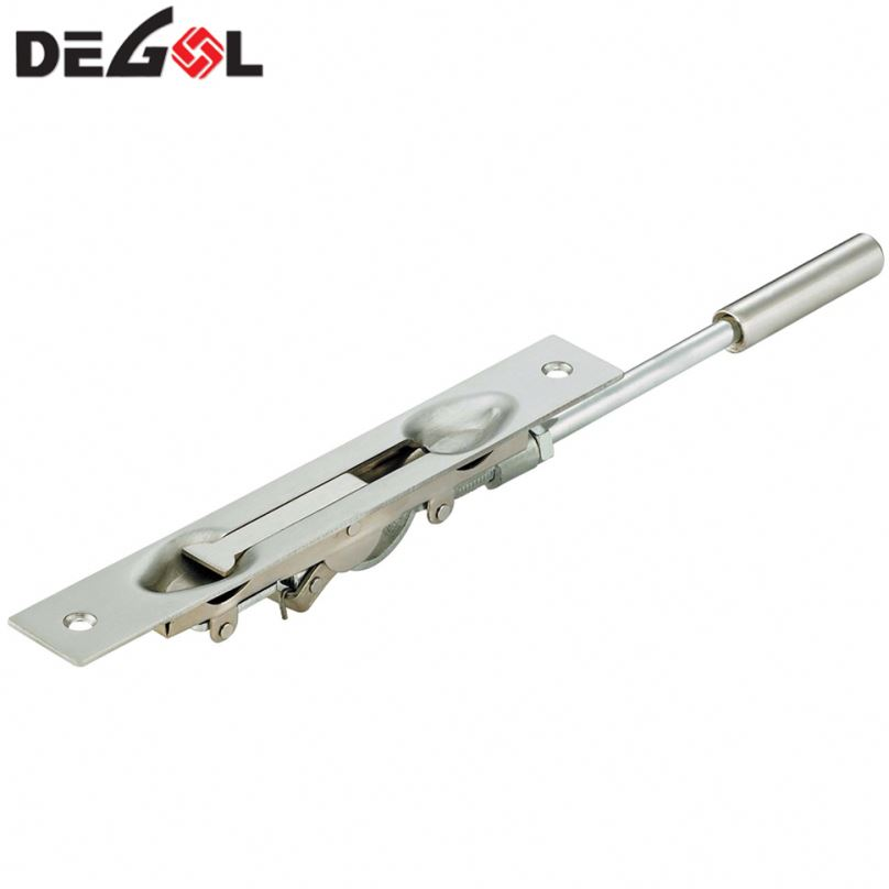 Cheap price iron door bolts gate latch types metal gate latch