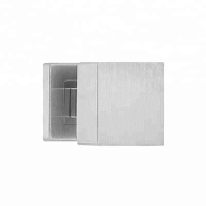 High Quality Aluminum Square Shape Sliding Glass Door Handle Door Knob