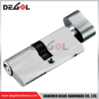 Brass Double Single Cylinder Metal Door Lock
