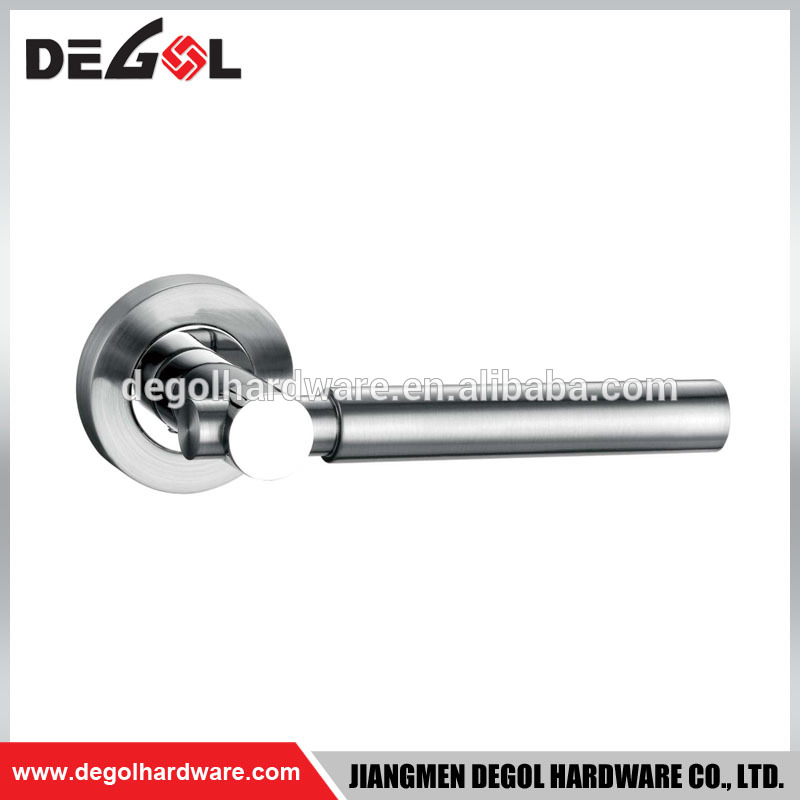 Contemporary Modern Style Residential Room Lever Door Zinc Handle