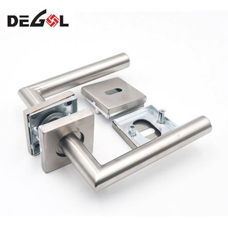 Door Handle With Tube Interior Door Lock With Handle