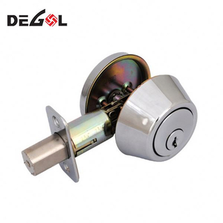 Latest Design Power On To Open Deadbolt Lock With Keys