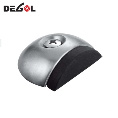 stainless steel decorative sliding Wall Mount door stop