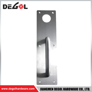 BP1044 Door Locks And Handles In Dubai Wooden commercial door handle with plate