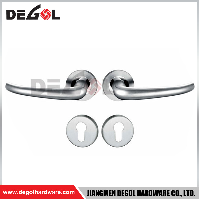 LH1023 hardware bedroom furniture set lock lever door handle