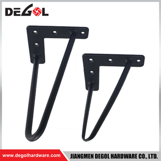 FL1060 New style black iron table furniture legs