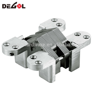 Heavy duty stainless steel 180 degree door concealed hinge