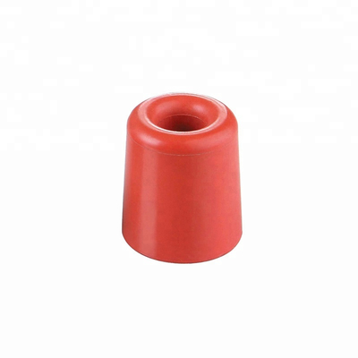 Durable Types of Decorative Sliding Red Round Rubber Door Stop