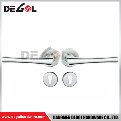 Stainless Steel Satin Polish Door Handles