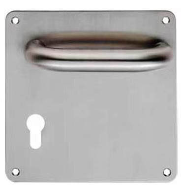 Hot Sale Dubai Aluminum Gate Door Lever Handle On Square Plate