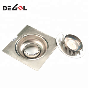 Stainless steel bathroom washing machine floor drain