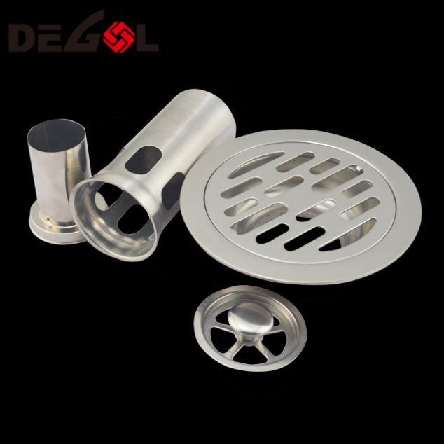 Door Handle With Tube Floor Drain 304 Stainless Steel
