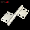 New style cheap stainless steel rust proof loaded pivot adjustable SUS 304 spring door hinge