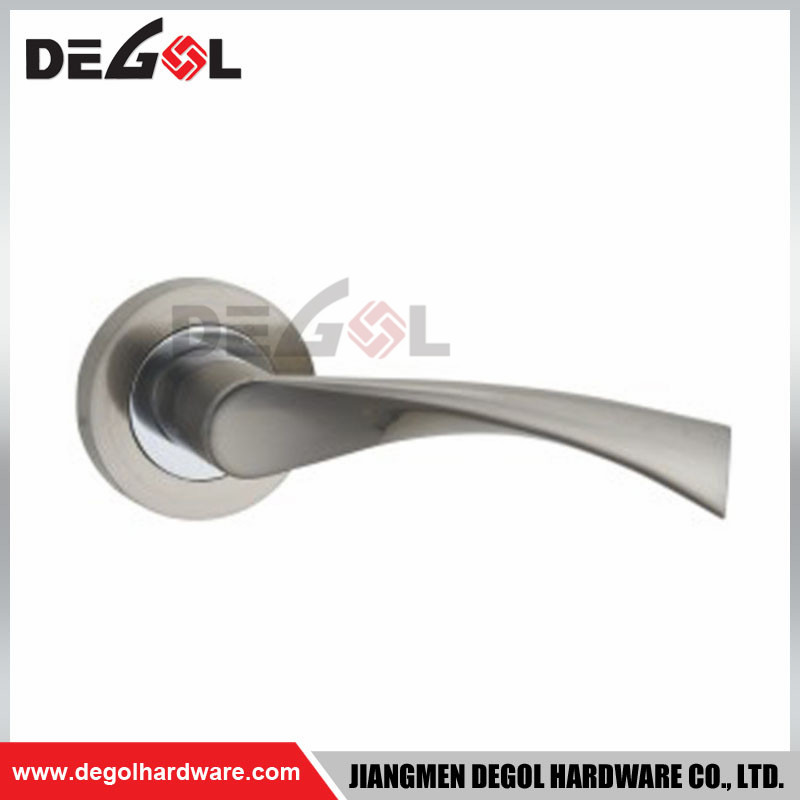LH1041 High Quality Zinc Alloy Door Handle For Steel door