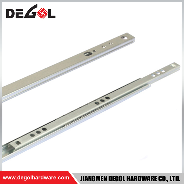 Popular good quality indian stainless steel l-shaped kitchen cabinet drawer slide
