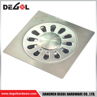 Modern anti-odor floor drain bathroom stainless steel shower drains