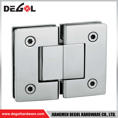 SH1006 stainless steel 135 degree glass to glass shower heavy duty glass door hinge