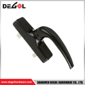 New style China hardware products of die cast aluminium accessories window handle remover for UPVC window