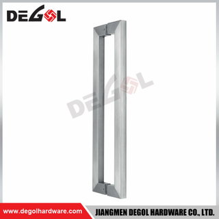 DP1001 Square Stainless Steel Glass Industrial Door Pull Handle