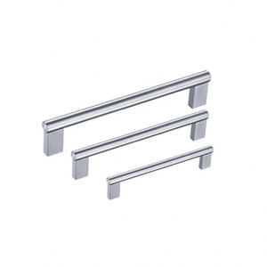 Hot sale Custom made stainless steel right angle modern kitchen cabinet knobs pulls