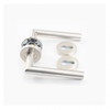 China Wholesale stainless steel tube type residential apartment room distributor acrylic lever handle