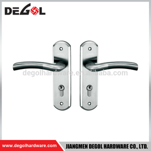 Stainless steel cover plate sus304 fancy type long plate door handle
