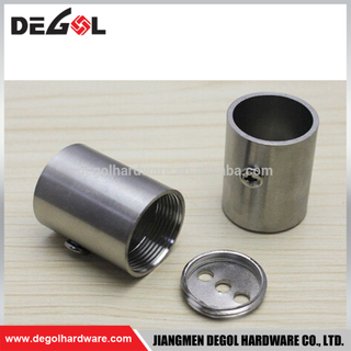 High quality wardrobe pipe fittings stainless steel tube flange