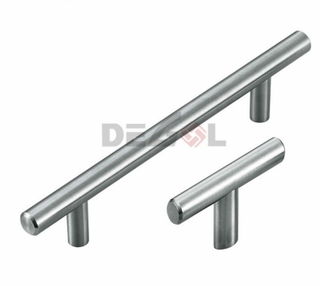 Stainless Steel solid T bar handle cabinet wardrobe furniture handle
