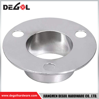 WF1007 China wholesale durable stainless steel wardrobe flange
