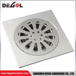 Good Selling Square Tile Insert Floor Drain Cover Stainless Steel