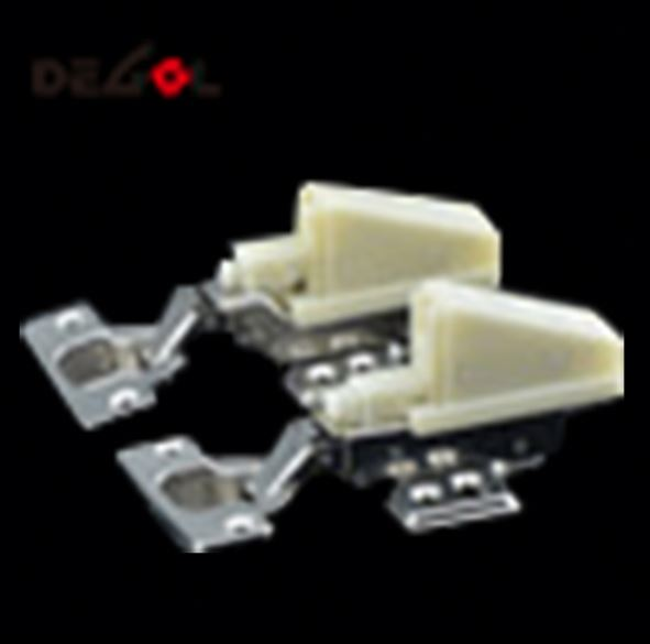 Luxury iron clip on glass door cabinet hinge