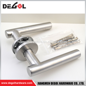 Modern Stainless Steel Mortise Lock Door Handle