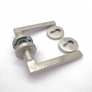 Durable brass bushing door handle stainless steel
